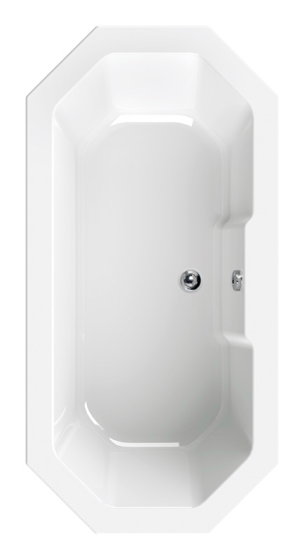 Wanna ośmiokątna 180x90 cm Sanitop AquaSu ScaLma 80188 1